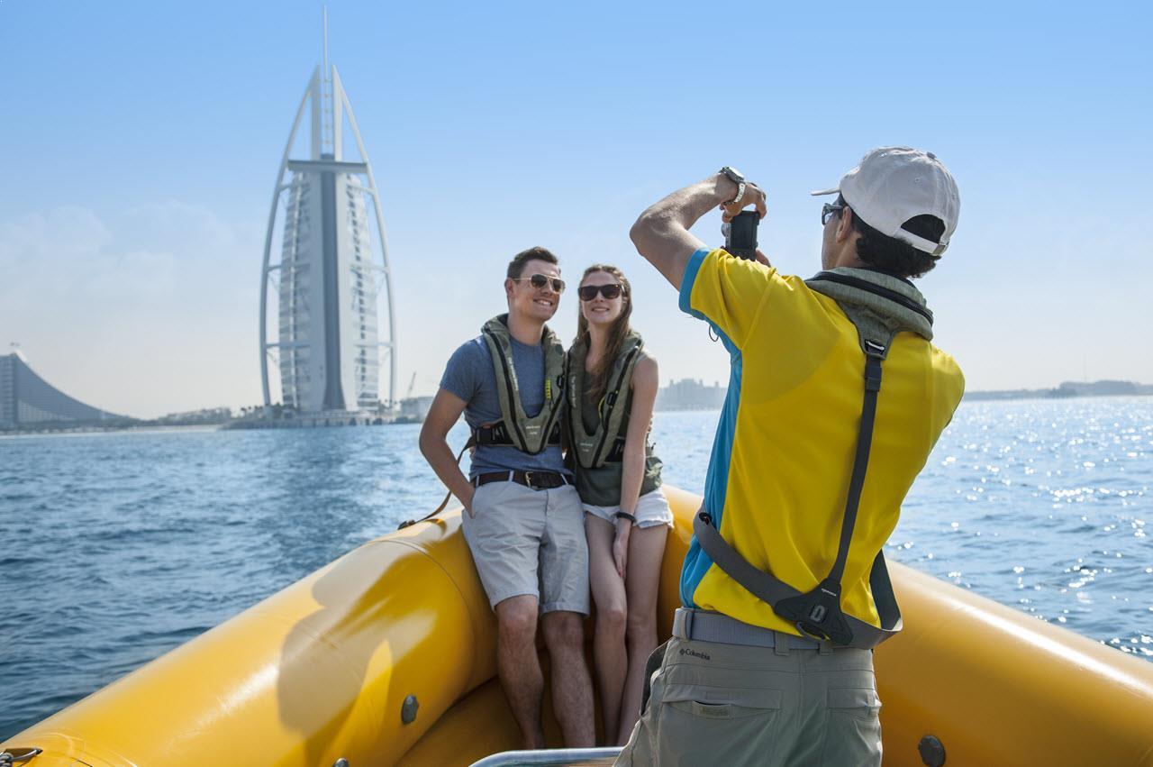 yellow boat tour dubai 6