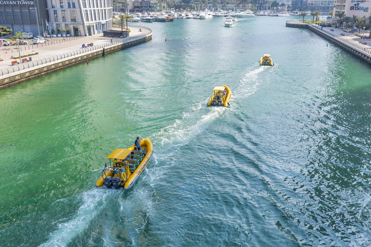 yellow boat tour dubai 5