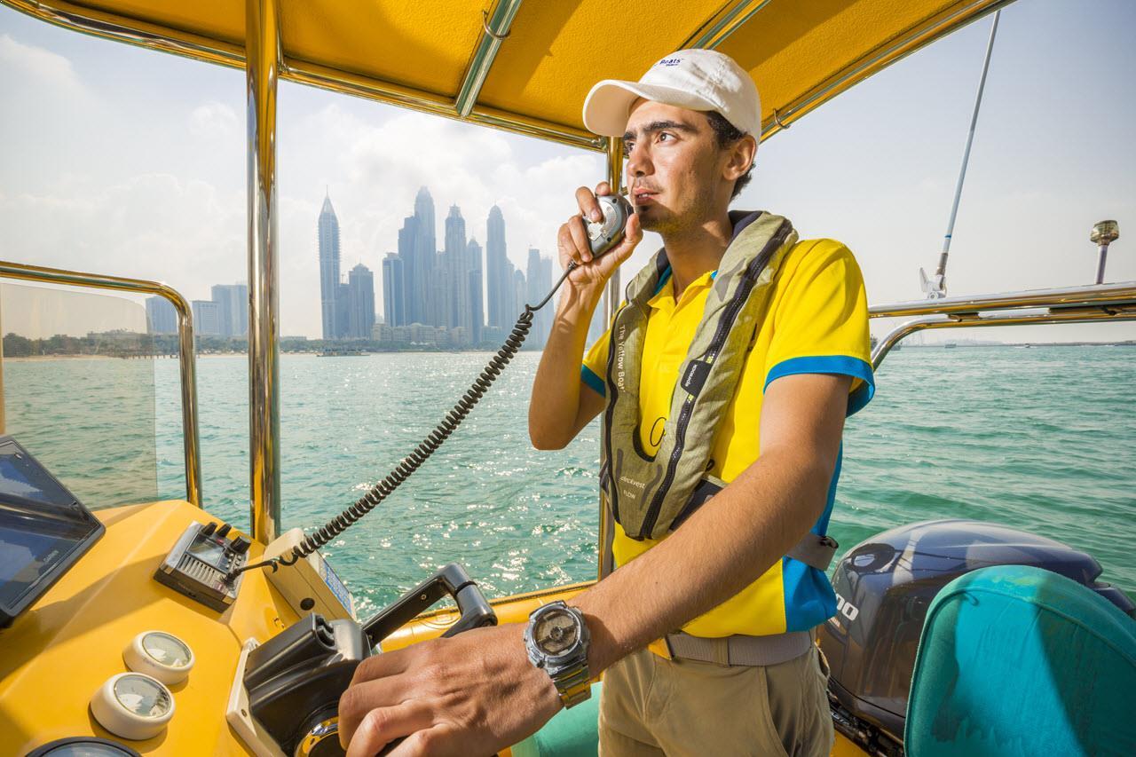 yellow boat tour dubai 4