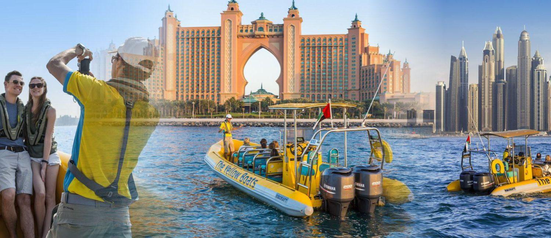 yellow boat tour